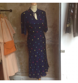 Robe soie Cacharel vintage
