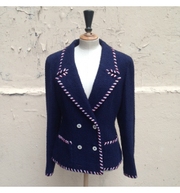 Vintage tweed veste CHANEL taille 40