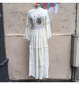 Robe hippy chic ibiza party T36