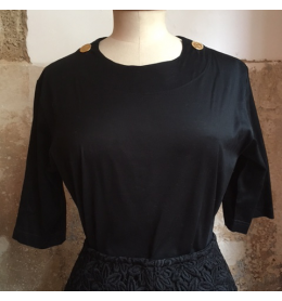 Top coton vintage Yves Saint-Laurent coton