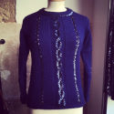 Pull COURREGES sequins TXS