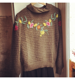 PULL maille vintage KENZO