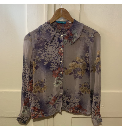 Blouse vintage Cacharel col TS