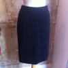 Jupe Chanel maille noire taille 40