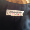 Veste Yves Saint-Laurent vintage brocart