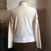 Pull COURREGES vintage blanc taille L