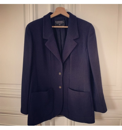 Veste CHANEL vintage dec courte