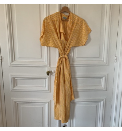 Robe Ted Lapidus soie vintage Taille M